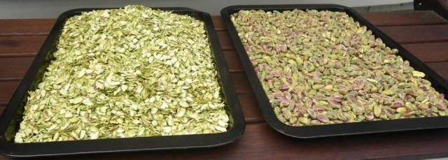 Comparison: 1 kg slices vs 1 kg whole nut
